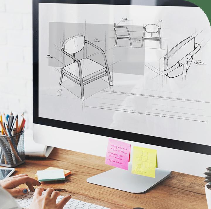 Netforceは家具を作る会社です